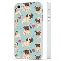 Pug Puppy Pattern iPhone Cover