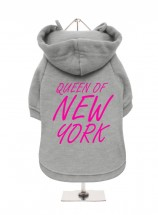 Queen Of New York Fleece Lined Hoodie (Available in 5 colours)