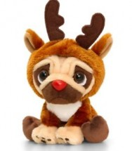 Pugsley Reindeer Christmas Toy