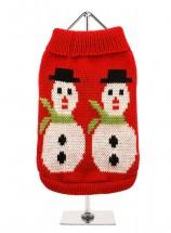 Urban Pup Christmas Snowman Sweater