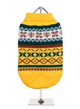 URBAN PUP YELLOW FAIR ISLE SWEATER