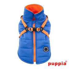 Puppia Blue Fleece Lined Mountaineer