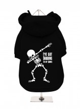 Halloween Fleece Lined Hoodie (Available in 2 colours)