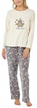 Ladies Fleece Unicorn Pj Set