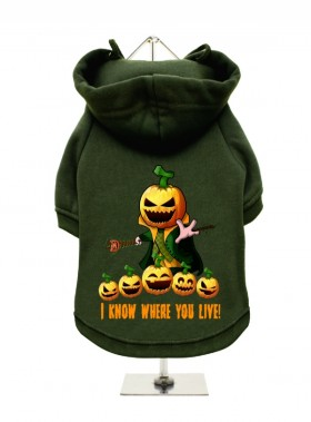 Halloween Fleece Lined Hoodie (Available in 3 colours)