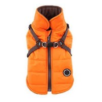 Puppia Orange  Fleece Lined Mountaineer
