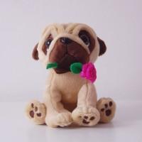 Cute Pug Soft Toy