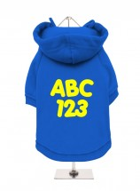 ABC 123 Unisex Hoodie  (Available in 3 colours)