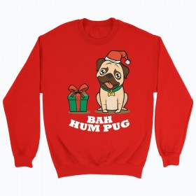 Unisex Pug Christmas Sweater