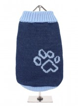 URBAN PUP BLUE PAW SWEATER
