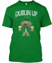 Dublin Pug Unisex T Shirt (Available in 2 colours)