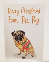 From The Pug Christmas Card