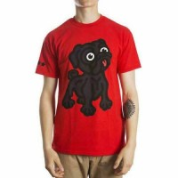Coo Unisex Black Pug T Shirt (Available in 2 colours)