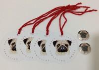 Pug Christmas Gift Tag