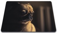 Cute  Pug Mouse Mat