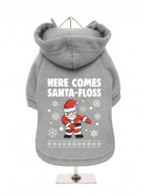 Funny Christmas Fleece Lined Hoodie (Available in 3 colours)