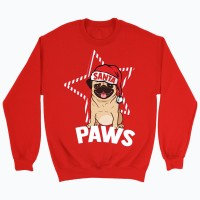 Unisex Pug Christmas Sweater