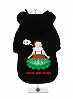 Funny Christmas Fleece Lined Hoodie (Available in 5 colours)