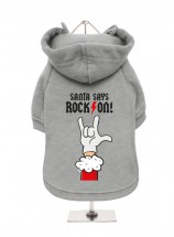 Funny Christmas Fleece Lined Hoodie (Available in 2 colours)