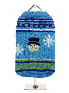 URBAN PUP SNOWMAN CHILLY SWEATER