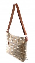 Cute Pug Printed Over The Shoulder Handbag