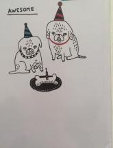 Cute Gemma Correll Blank Card