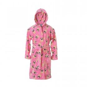 Kids Fleece Pug Dressing Gown