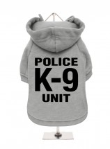 Police K9 Fleece Lined Hoodie  (Available in 4 colours)