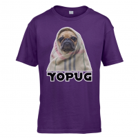 Funny Kids Pug T Shirt (Available in 10 colours)