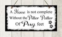 Stunning Pug Plaque