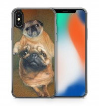 Cute Pug Phone Cover (For all iPhone & Samsung models)