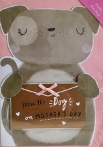 Cute From The Pug Mother's Day Card