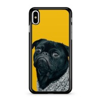 Black Pug Phone Cover (For all iPhone & Samsung models)
