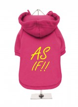 As If Clueless Fleece Lined Unisex Hoodie  (Available in 2 colours)