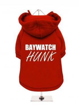 Baywatch Hunk Fleece Lined Unisex Hoodie