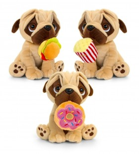 Fast Food Pug Soft 20cm Toys (Available in 3 designs)