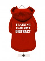 In Training Don't Distract Fleece Lined Unisex Hoodie  (Available in 3 colours)