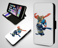 Super Hero Pug iPhone & Samsung Flip Case