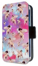 Unicorn Pug iPhone Flip Case