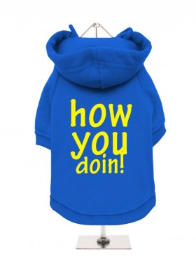How You Doin Fleece Lined  Unisex Hoodie  (Available in 2 colours)