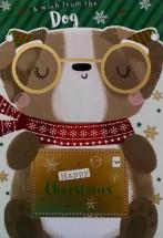 From The Dog Pug Christmas Card