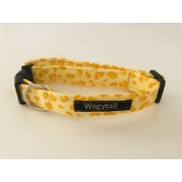 Unisex Lemon Leopard Print Collar