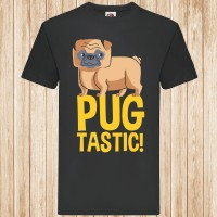 Unisex Pugtastic T Shirt (Available in 4 colours)