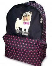 Pug  Rucksack Bag By David & Goliath