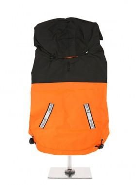 Urban Pup Orange  & Black Windbreaker Coat