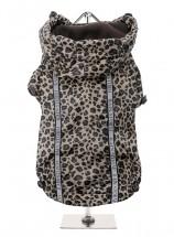 Urban Pup Leopard Print Windbreaker Coat