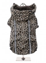 Urban Pup Leopard Print Windbreaker Coat