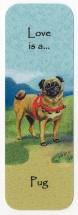 Vintage Pug Book Mark