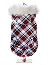 Urban Pup Plaid Parka Hooded Coat
