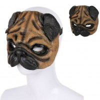 Funny Pug Party Mask